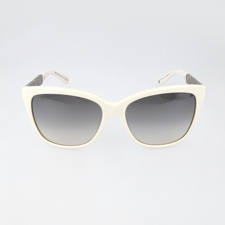 Cora Sunglasses // White