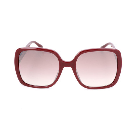 Chari Sunglasses // Burgundy