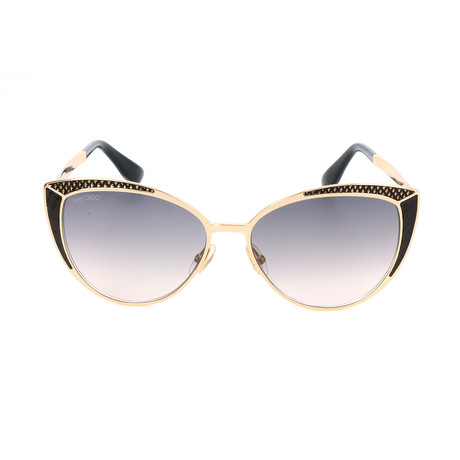Domi Sunglasses // Gold + Black