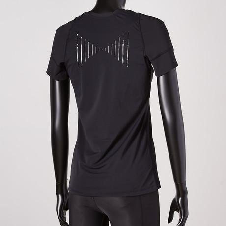 Posture Reminder T-Shirt // Black // Women's (XS)