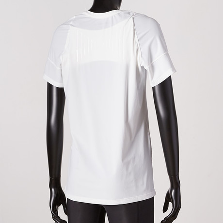 Posture Reminder T-Shirt // White // Women's (XS)
