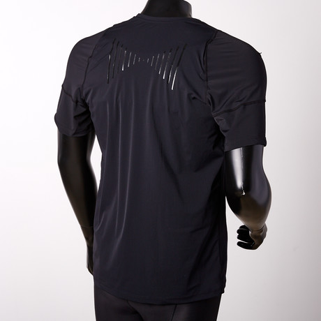 Posture Reminder T-Shirt // Black // Men's (S)
