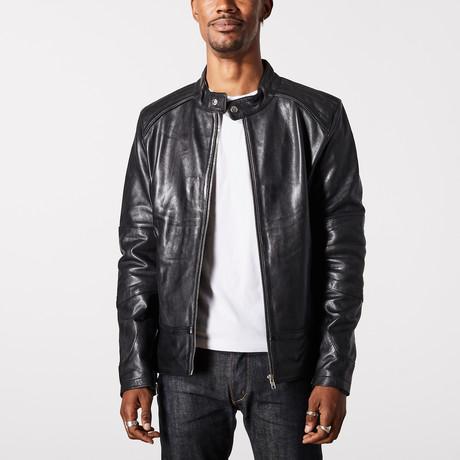Hades Biker Jacket // Black (XS)