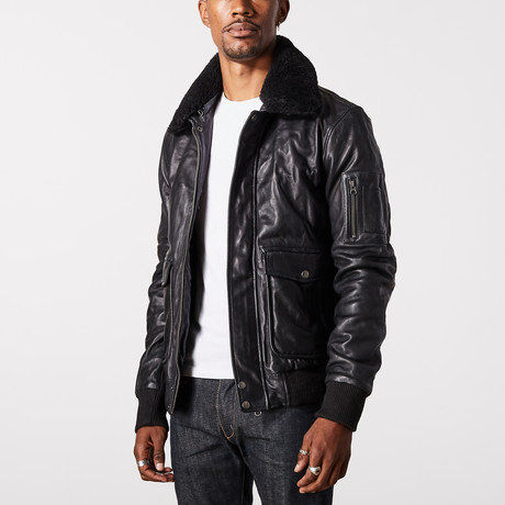 Icarus Flight Jacket // Black (XS)