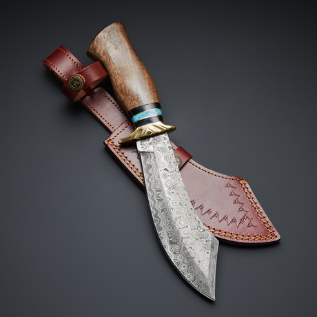Damascus Steel Pirates Bowie