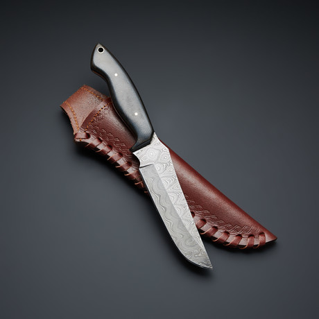 Damascus Steel Tactical Knife