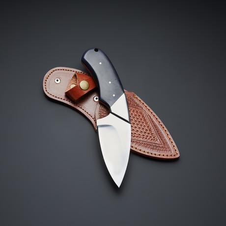 D2 Blue Micarta Handle Tactical Knife