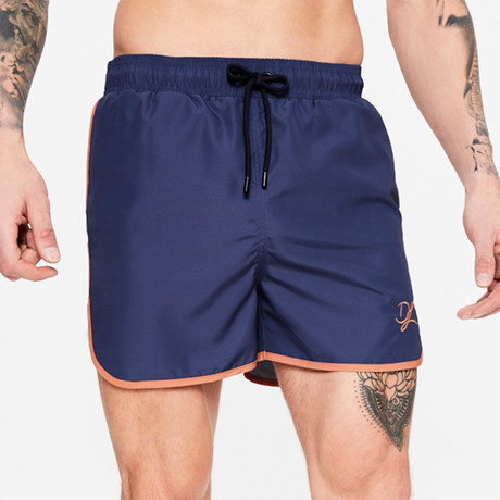 Plain Swim Short // Ink Blue (XS)