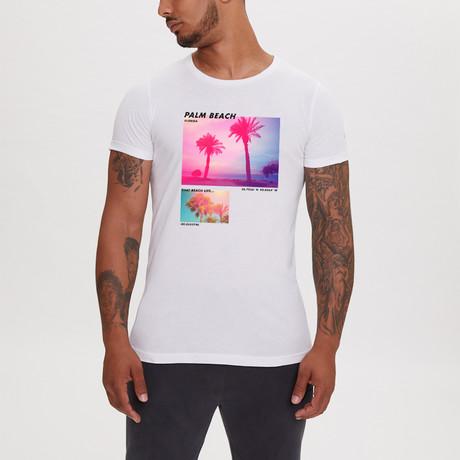 Palm Beach T-Shirt // White (XS)