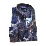 Anatoli Print Button-Up Shirt // Multicolor (S)