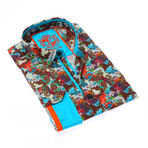 Niilo Print Button-Up Shirt // Multicolor (XL)