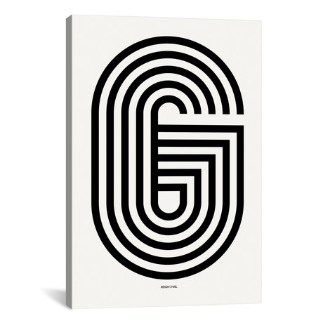 """G Geometric Letter (18""""W x 26""""H x 0.75""""D)"""