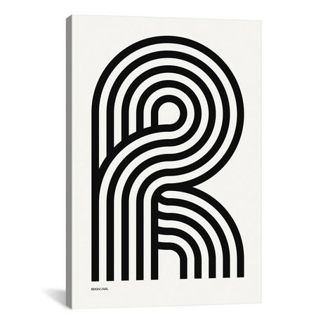 """R Geometric Letter (18""""W x 26""""H x 0.75""""D)"""
