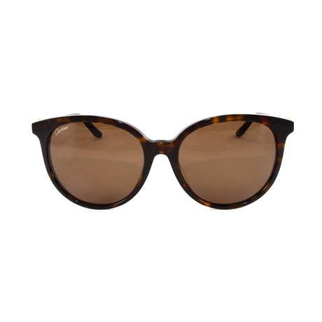 Women's CT0003SA Sunglasses // Brown