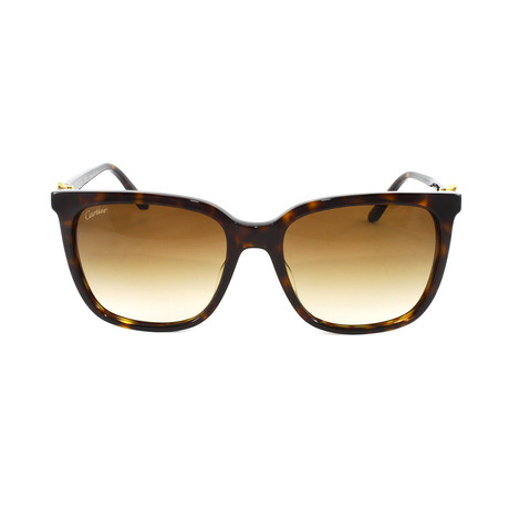 Unisex CT0004S Sunglasses // Brown Gradient