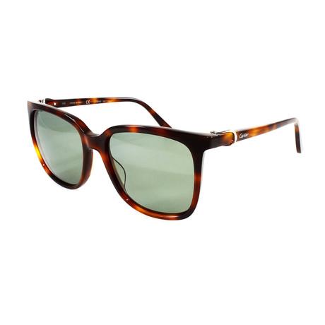 Unisex CT0004S Sunglasses // Havana + Green Gradient