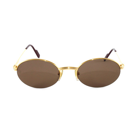 Men's T8200306 Sunglasses // Gold + Brown