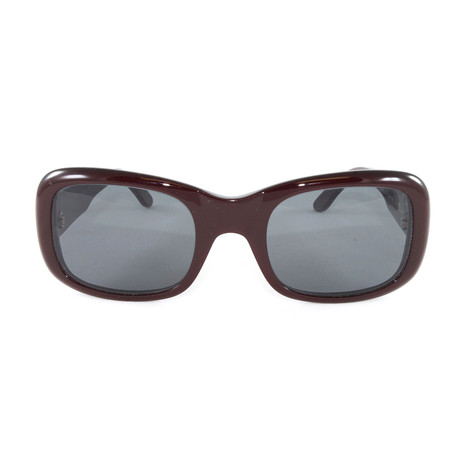 Women's T8200414 Sunglasses // Burgundy + Grey
