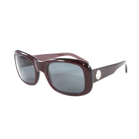 Women's T8200414 Sunglasses // Burgundy + Gray
