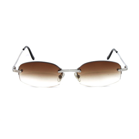 T8303009 Sunglasses // Khaki Gradient