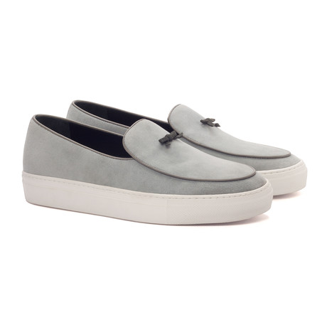 Belgian Bow Sneaker // Light Gray (UK: 5.5)