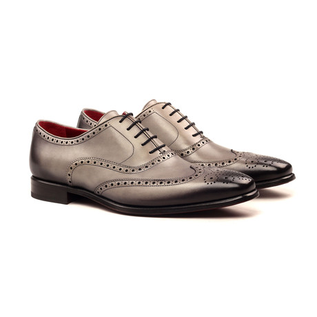 Full Brogue // Burnished Gray (UK: 5.5)