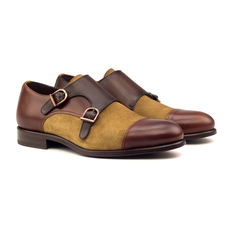 Double Monk // Brown + Camel (UK: 5.5)