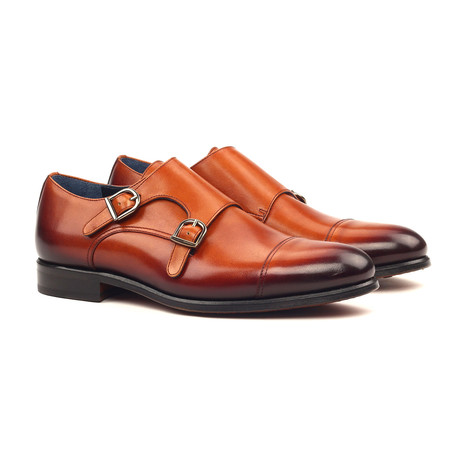 Double Monk // Burnished Cognac (UK: 5.5)