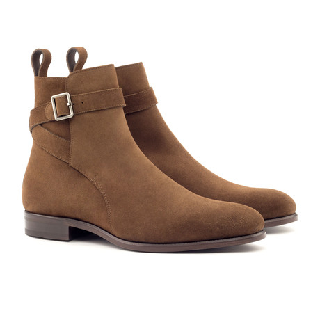Jodhpur Boot // Medium Brown + Navy (UK: 5.5)