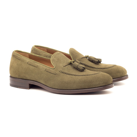 Loafer Tassels // Olive (UK: 5.5)