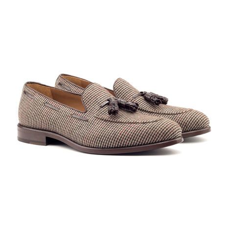 Loafer Tassels // Brown (UK: 5.5)