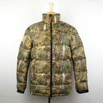 Heron Preston // Forest Rip Stop Puffer Jacket // Multi-Color (XS)