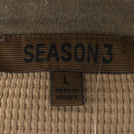 Yeezy // Season 3 Cotton Crewneck Sweater // Brown (XS)