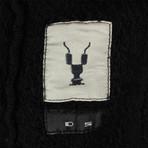 DRKSHDW // Woven 'Jasons Hoodie' Sweatshirt // Black (XS)