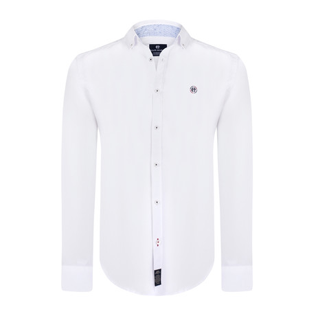 Tidus Dress Shirt // White (XS)
