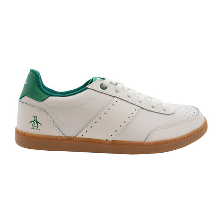 Collin Modern Classic Shoes // White + Green (US: 7.5)