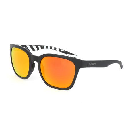 Smith // Unisex Founder Polarized Sunglasses // White + Black