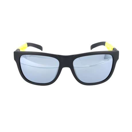 Unisex Lowdown Sunglasses // Black + Yellow