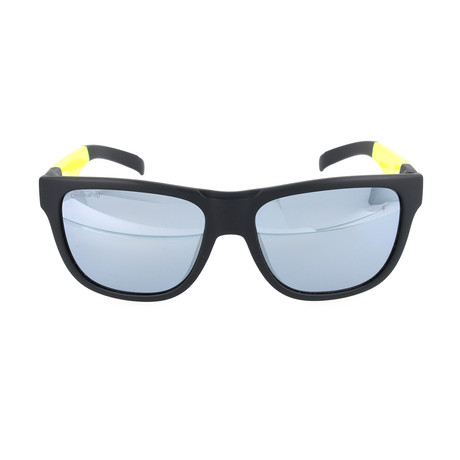 Men's Lowdown Sunglasses // Black + Yellow