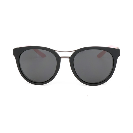 Women's Bridgetown Sunglasses // Matte Black + Pink
