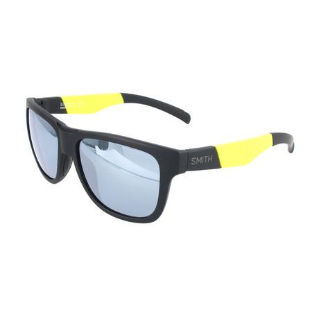 Men's Lowdown Sunglasses // Black + Yellow