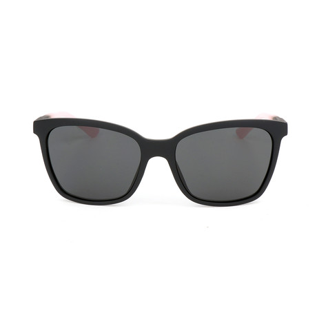 Women's Smith Sunglasses // Matte Black + Pink