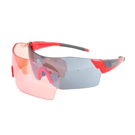 Unisex Pivlock Sunglasses // Cherry Red