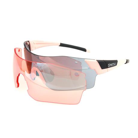 Smith // Unisex Pivlock Sunglasses // Light Pink