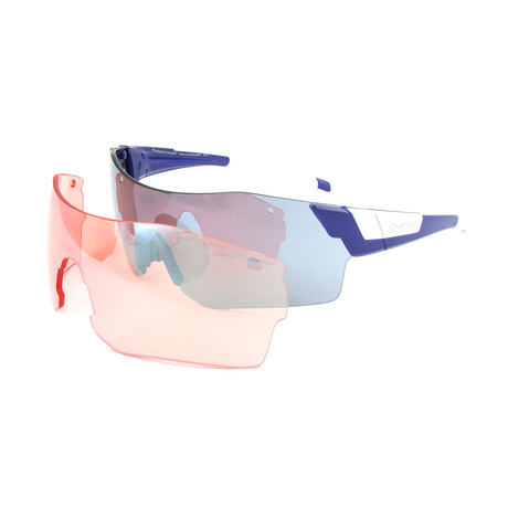 Unisex Pivlock Sunglasses // Matte Blue