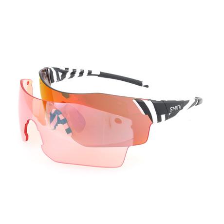 Unisex Pivlock Sunglasses // White + Black