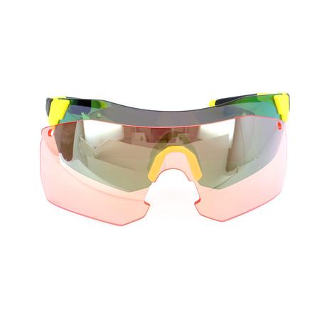 Unisex Pivlockare Sunglasses // Yellow