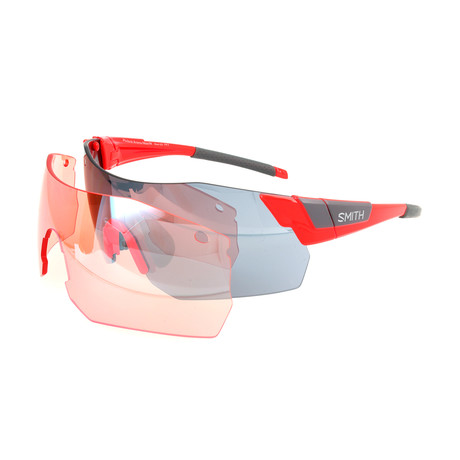 Unisex Pivlockare Sunglasses // Cherry Red