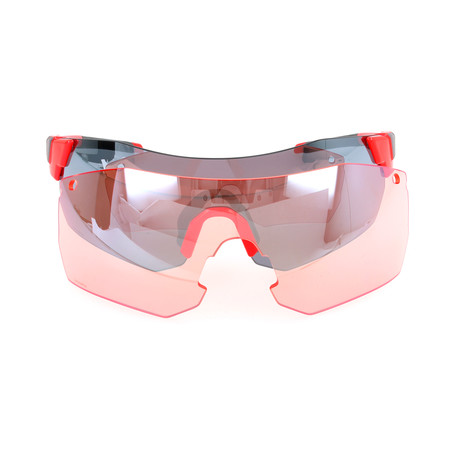 Unisex Pivlockare Sunglasses // Cherry Red