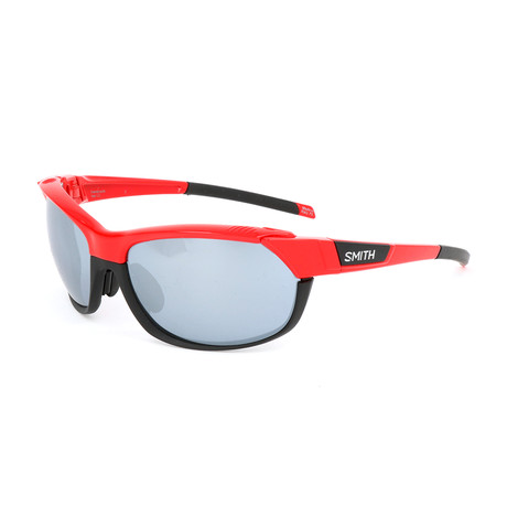 Unisex Overdrive Sunglasses // Cherry Red